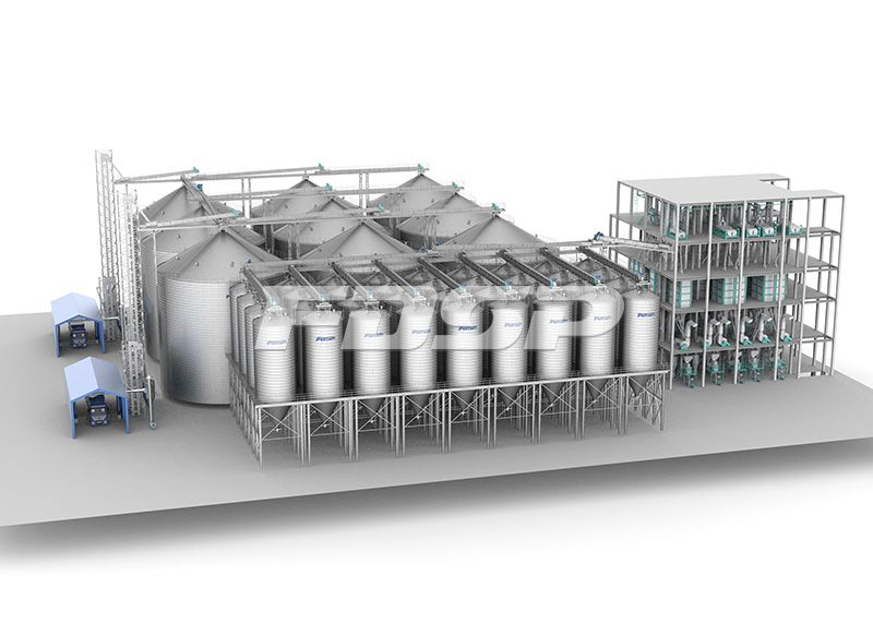 60000T per year small pig feed and 600000T per year fattening pig feed productio