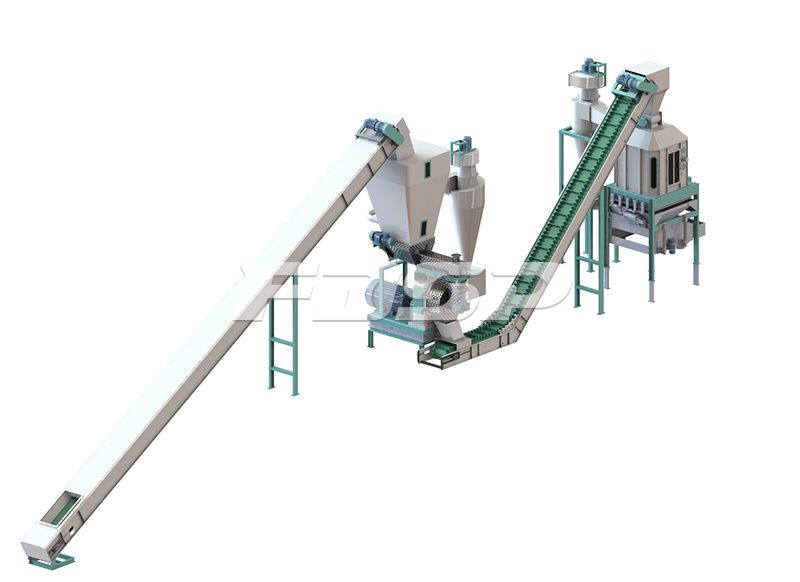1t/h fruit shell and waste biomass production