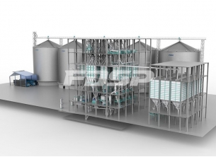 150tph corn deep processing production li