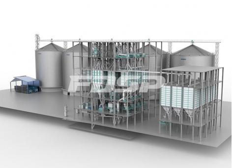 150tph corn deep processing production line