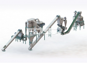 1t/h fruit shell and waste biomass produc
