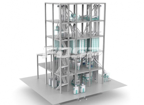 Feed machinery SZLH508(20tph) rabbit feed production line