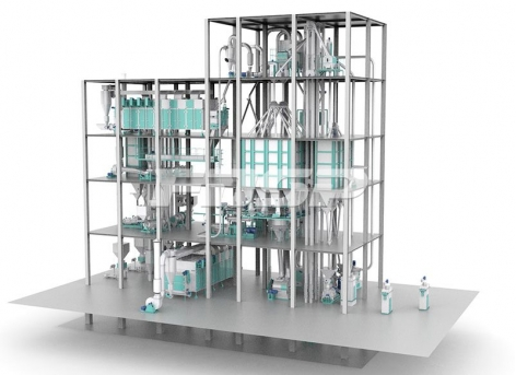 Output 6-12T/H Double Line Extruding Aquatic Feed Production Line