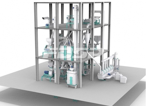 1T/H Pet Feed Production Line