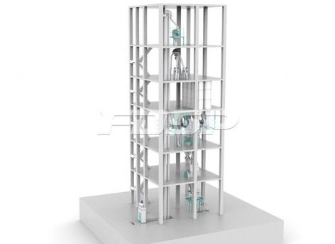 SFYH1000 automatic batching premix feed set