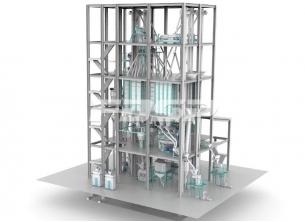Dual-line SZLH420(15tph) normal aqua feed