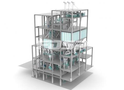 Triple set SZLH420(20tph) normal fish feed production line
