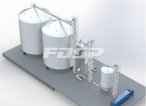 2-4000T Grain Storage Project