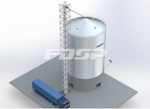 Brewing industry 1-1500T sorghum silo pro
