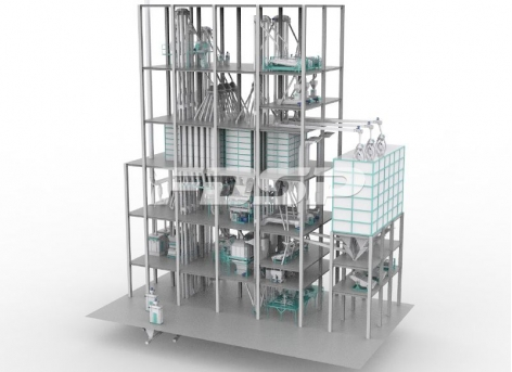 FDSP Triple SZLH508(45tph) poultry feed production line