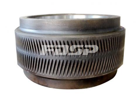 Sawdust roller shell