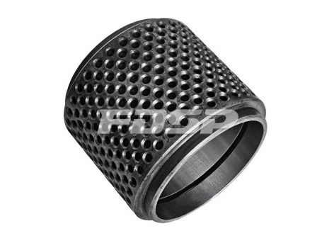 Drum-hole groove roller shell
