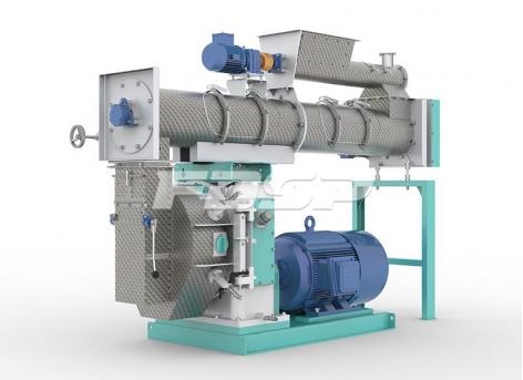 China Feed Machine SZLH420 High Grade Ring Die Pellet Mill
