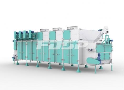 SHGW Series Horizontal Circulation Dryer