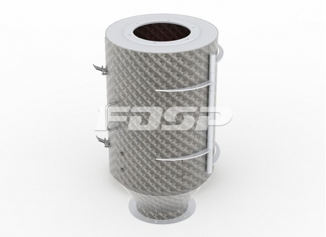 Feed Cleaning Process TCXT Series Tubular Magnet