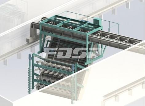 Chain Type Turning Machine